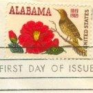 Alabama Statehood 6 cent Stamp FDI SC 1375 First Day Issue
