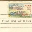 Nevada Statehood 5 cent Stamp FDI SC 1248 First Day Issue