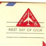 Air Mail 8 cent Envelope FDI SC UC37 First Day Issue