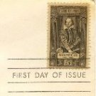William Shakespeare 5 cent Stamp FDI SC 1250 First Day Issue