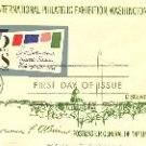 6th International Philatelic Exhibition Washington DC 1966 5 cent stamp FDI SC 1311 First Day Issue