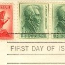 Bald Eagle Air Mail Stamp 6 cent FDI SC C67 First Day Issue