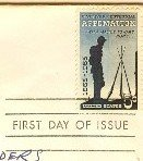 Appomattox 5 cent Stamp Civil War Centennial Issue FDI SC 1182 First Day Issue
