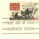 The Wilderness 5 cent Stamp Civil War Centennial Issue FDI SC 1181 First Day Issue