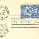 Fort Duquesne 4 cent Stamp FDI SC 1123 First Day Issue