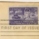 General George S Patton 3 cent Stamp FDI SC 1026 First Day of Issue