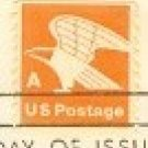 Orange Eagle A Stamp FDI SC 1735 First Day Issue