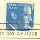 Robert F Kennedy 15 cent Stamp FDI SC 1770 First Day Issue