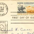 Range Conservation Stamp FDI SC 1176 First Day Issue 4 cent