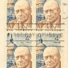 Sam Rayburn 4 cent Stamp Block of 4 FDI SC 1202 First Day Issue