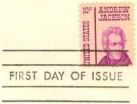 Andrew Jackson 10 cent Stamp FDI SC 1286 First Day Issue