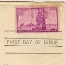 City of New York 300th Anniversary 3 cent Stamp FDI SC 1027 First Day Issue