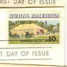 Rural America Issue Complete set 3 Stamps FDI First Day Issue
