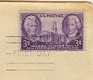 Tennessee Statehood 3 cent Stamp FDI SC 941 First Day of Issue