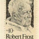 Robert Frost 10 cent Stamp FDI SC 1526 First Day Issue