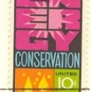 Energy Conservation 10 cent Stamp FDI SC 1547 First Day Issue