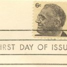 Franklin Roosevelt 6 cent Stamp FDI SC 1284 First Day Issue