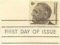 Franklin Roosevelt 6 cent Stamp FDI SC 1284 First Day Issue
