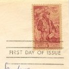 Danti Alighieri Stamp 5 cent FDI SC 1268 First Day Issue
