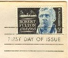 Robert Fulton Stamp 5 cent FDI SC 1270 First Day Issue