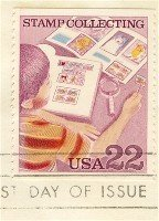 Stamp Collection 22 cent Stamp Stamp Collecting Issue FDI SC 2199 First Day Issue