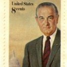 Lyndon Johnson 8 cent Stamp FDI SC 1503 First Day Issue