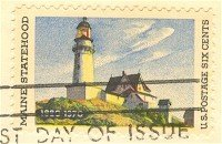 Maine Statehood 6 cent Stamp FDI SC 1391 First Day Issue