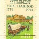 First Kentucky Settlement 10 cent Stamp FDI SC 1542 First Day Issue