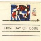 Fine Arts 5 cent Stamp FDI SC 1259 First Day Issue