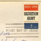 Salvation Army Stamp 5 cent FDI SC 1267 First Day Issue
