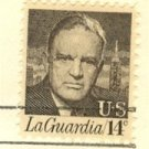 Fiorella H LaGuardia 14 cent Stamp FDI SC 1397 First Day Issue