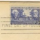 Washington and Lee University 200 Years 3 cent Stamp FDI SC 982 First Day Issue