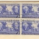 Washington and Lee University 3 cent Stamp Block of 4 FDI SC 982 First Day Issue