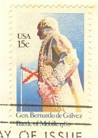 General Bernardo de Galvez 15 cent Stamp Bicentennial Issue FDI SC 1826 First Day Issue