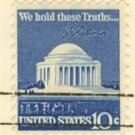 Jefferson Memorial 10 cent Stamp FDI SC 1510 First Day Issue
