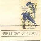 John James Audubon 5 cent Stamp FDI SC 1241 First Day Issue