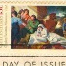 1976 Nativity by John Singleton Copley Stamp FDI SC 1701 First Day Issue