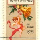 1975 Christmas Card by Louis Prang FDI SC 1580 First Day Issue