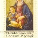 1975 Christmas stamp Madonna and Child by Domenico Ghirlandaio FDI SC 1579 First Day Issue