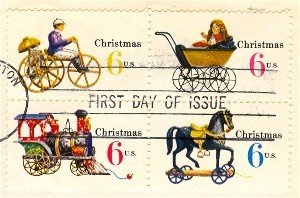 1970 Christmas Issue set of 4 in Block of 4 FDI SC 1418b First Day Issue