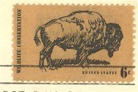 Wildlife Conservation 6 cent Stamp FDI SC 1392 First Day Issue