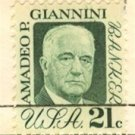 Amadeo P Giannini 21 cent Stamp FDI SC 1400 First Day Issue