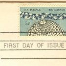 The Sciences 5 cent Stamp FDI SC 1237 First Day Issue
