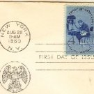 Employ the Handicapped 4 cent Stamp FDI SC 1155 First Day Issue