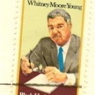 Whitney Moore Young 15 cent Stamp Black Heritage Issue FDI SC 1875 First Day Issue