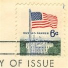 Flag Over White House 6 cent Stamp Flag Over Issue FDI SC1338D First Day Issue