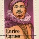 Enrico Caruso 22 cent Stamp Performing Arts Issue FDI SC 2250 First Day Issue