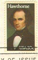 Nathaniel Hawthorne 20 cent Stamp Literary Arts Issue FDI SC 2047 First Day Issue