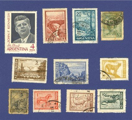 Argentina 11 Stamps