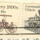 Locomotive 2 cent Coil Stamp Transportation Issue FDI SC 1897A First Day Issue